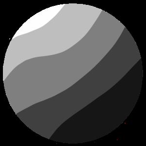 Kreis in Grautönen