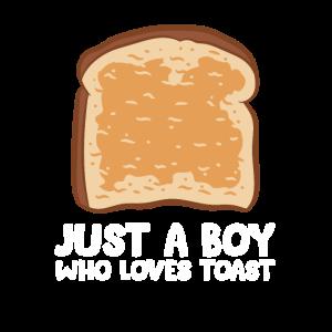 Toastbrot Liebe Nur Ein Junge Der Toast Liebt