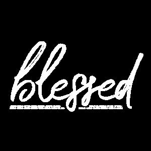 BLESSED - gesegnet - unterstrichen v Bibelstellen