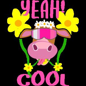 Lustige Kuh