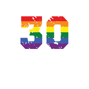 30th Birthday Proud Happy Regenbogen LGBT Geschenk
