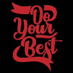 Do your best Witzige Geschenk