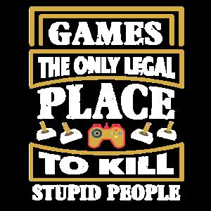 Gaming Sprüche