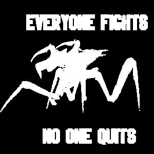 jeder kämpft