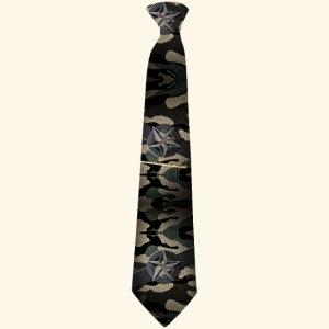 Krawatte 127 mit Goldnadel