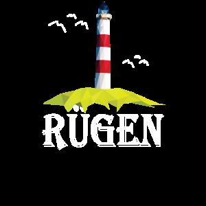 Rügen Insel Ostsee Urlaub Möwe Rüganer Geschenk