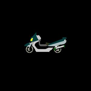 Roller-Fahrer Zweirad Benzin Biker Geschenkidee