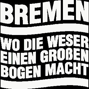Bremen Weser Bogen Hansestadt