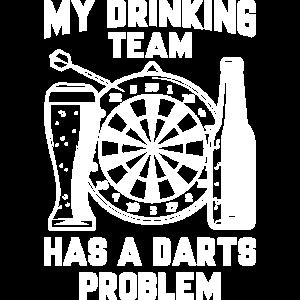 Mein Trinkteam hat ein Dartproblem