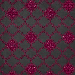 Pink Glittery Pattern, Geometric Pattern