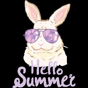 Süßer Hase Sonnenbrille