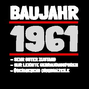Jahrgang 1961 und 60. Geburtstag