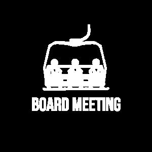 Board Snowboard Meeting Snowboarder Gift