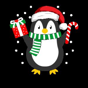Pinguin Weihnachten Winter