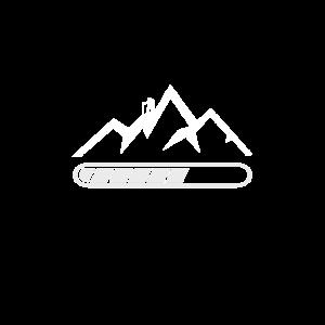 Bergwandern Wanderspruch Bergsportler Aufstieg