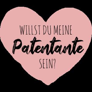 Willst du meine Patentante sein?