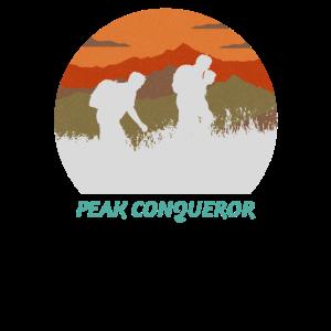 ak Conqueror Hiking Hiker Hike Mountain Nature