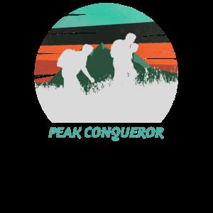 Peak Conqueror Hiking Hiker Hike Mountain Nature