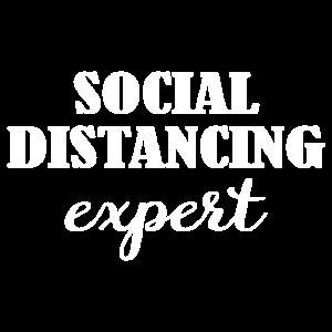 Social distancing expert Witzige Lustige Geschenk