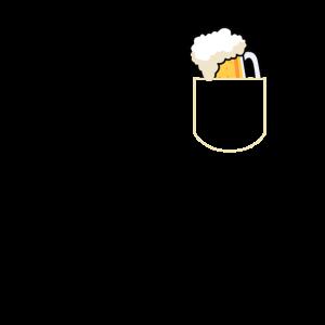Bier In Der Brusttasche Bierliebhaber Geschenkidee