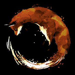 Aquarell Fox