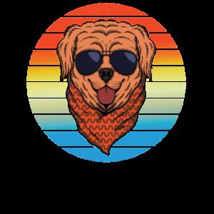 Retro English Cocker Spaniel Cooler Hund Design