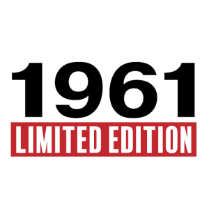 limited edition 1961