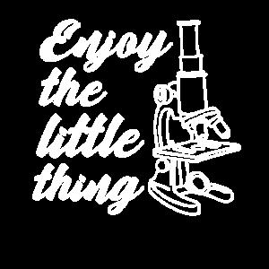 Mikroskop Spruch Biologe Geschenk