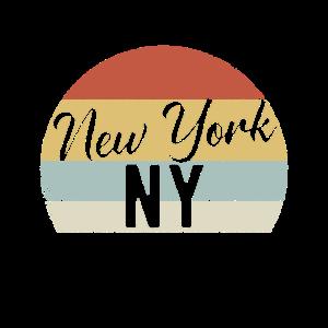 New York NY Retro