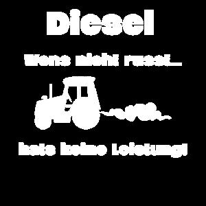 Diesel Bulldog Trecker Spruch
