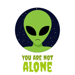 you are not alone - Alien, Sci-fi