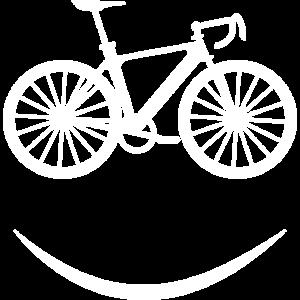 Fahrrad Smilie Mountainbike Radfahrer Geschenk