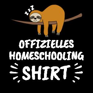 Offizielles Homeschooling Shirt Geschenk