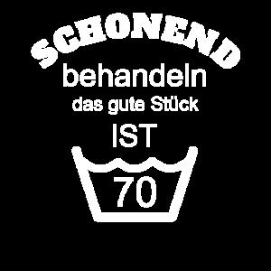 70 geburtstag 70 Jahre 70er siebzig Geschenk