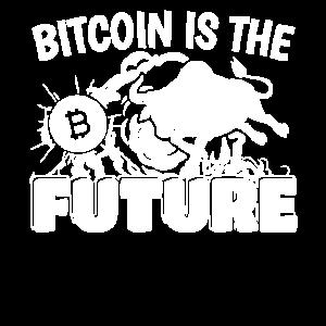 Bitcoin Is The Future Bitcoin Geschenk Bitcoin