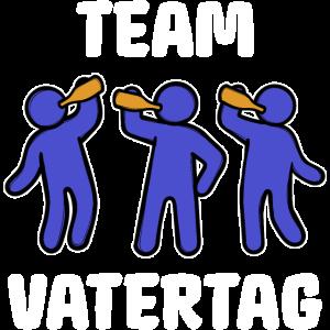 Team Vatertag Bester Papa Lieblingspapa Vater Fun