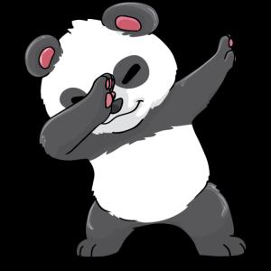 Panda Tupfen Kawaii