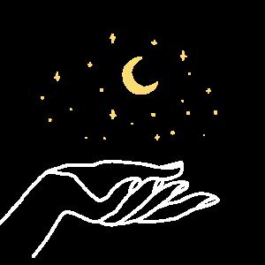 Mystischer Sternenhimmel