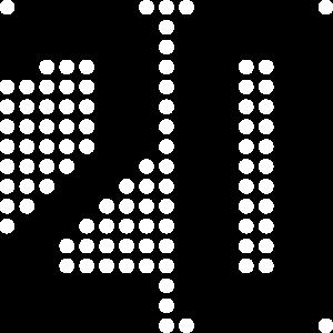 20, 20. Geburtstag, Pixel, Punkte, Display