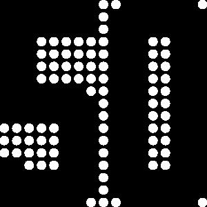 50, 50er, Pixel, Punkte, Display
