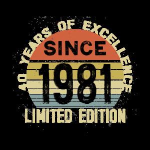 40. Geburtstag Jahrgang 1981