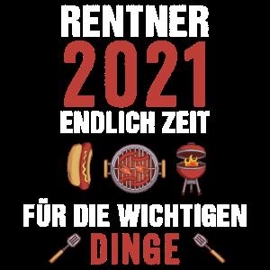 Rentner 2021 BBQ Grillen Grill Herren Opa