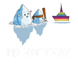Iceberg Schiff schlagen Pinata