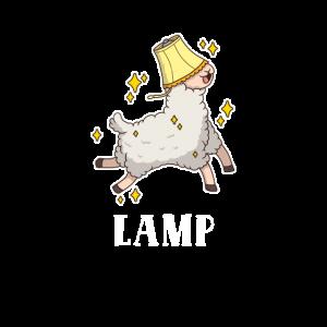 Lampenmöbel Lama Alpaka Tier