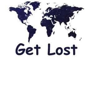 Get Lost Travel T-Shirt | Abenteuer T-Shirt |