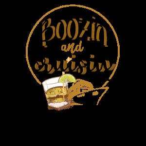 Boozin und Cruisin Cruise Shirts | Camping T-Shirt