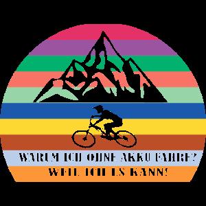 Fahrradfahrer - Mountainbiker