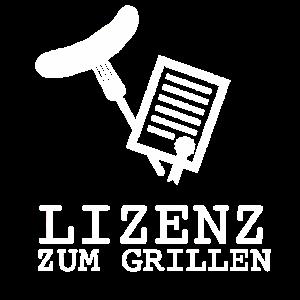 Grill BBQ Lizenz zum Grillen