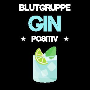 Blutgruppe Gin Positiv Tonic Alkohol