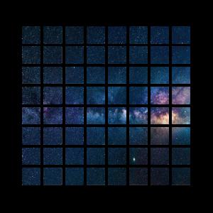 Weltraum Milchstraße Planet